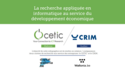 Recherche et innovation internationale : le CETIC et le CRIM annoncent une entente de collaboration