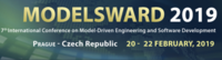 MODELSWARD International Conference on Model-Driven Engineering and Software Development Prague 20-22 février