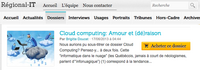 Cloud computing : Amour et (dé)raison