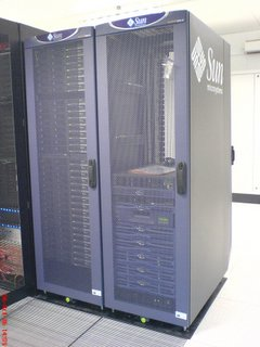 The cluster in its new environment
