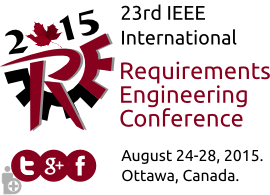 RE15 - International Requirements Engineering Conference