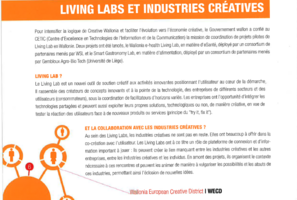 Living Labs et industries créatives