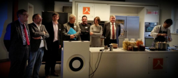 Inauguration officielle du Smart Gastronomy Lab